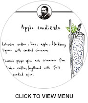 Henry's cocktail menu: Click to expand