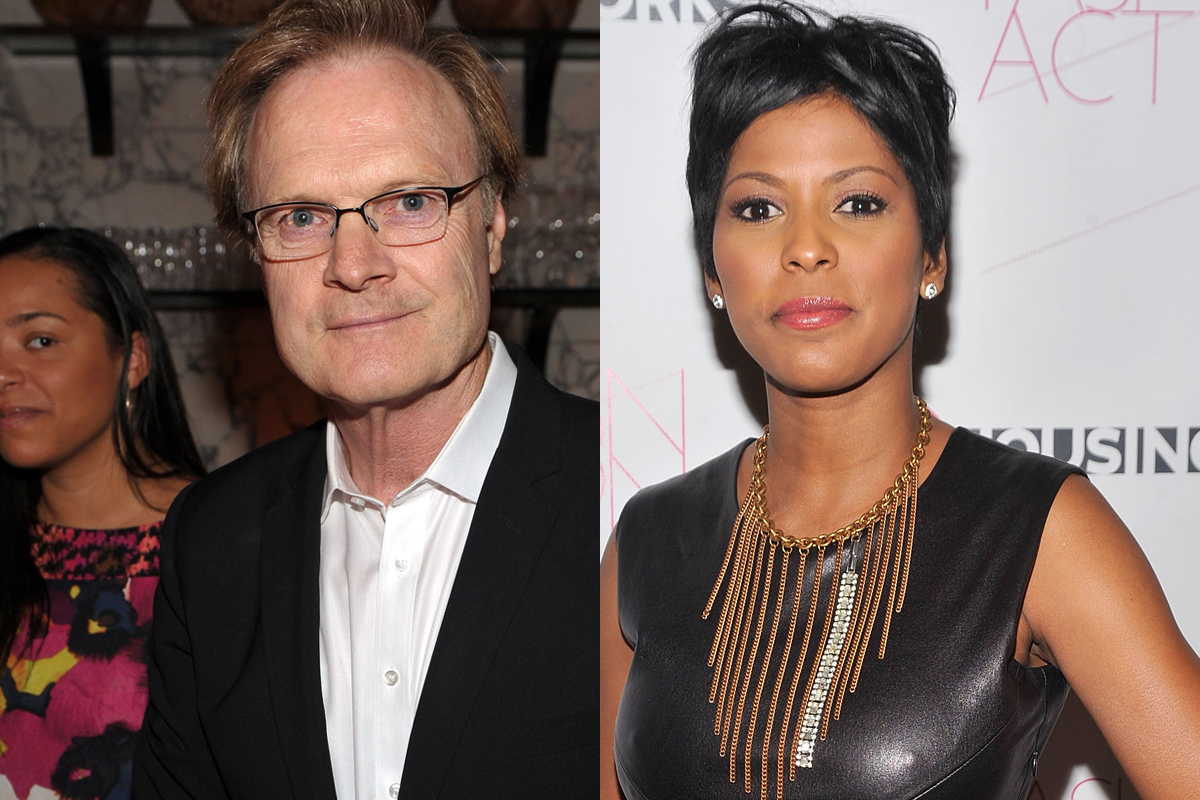 Is tamron hall still dating lawrence o'donnell 2014