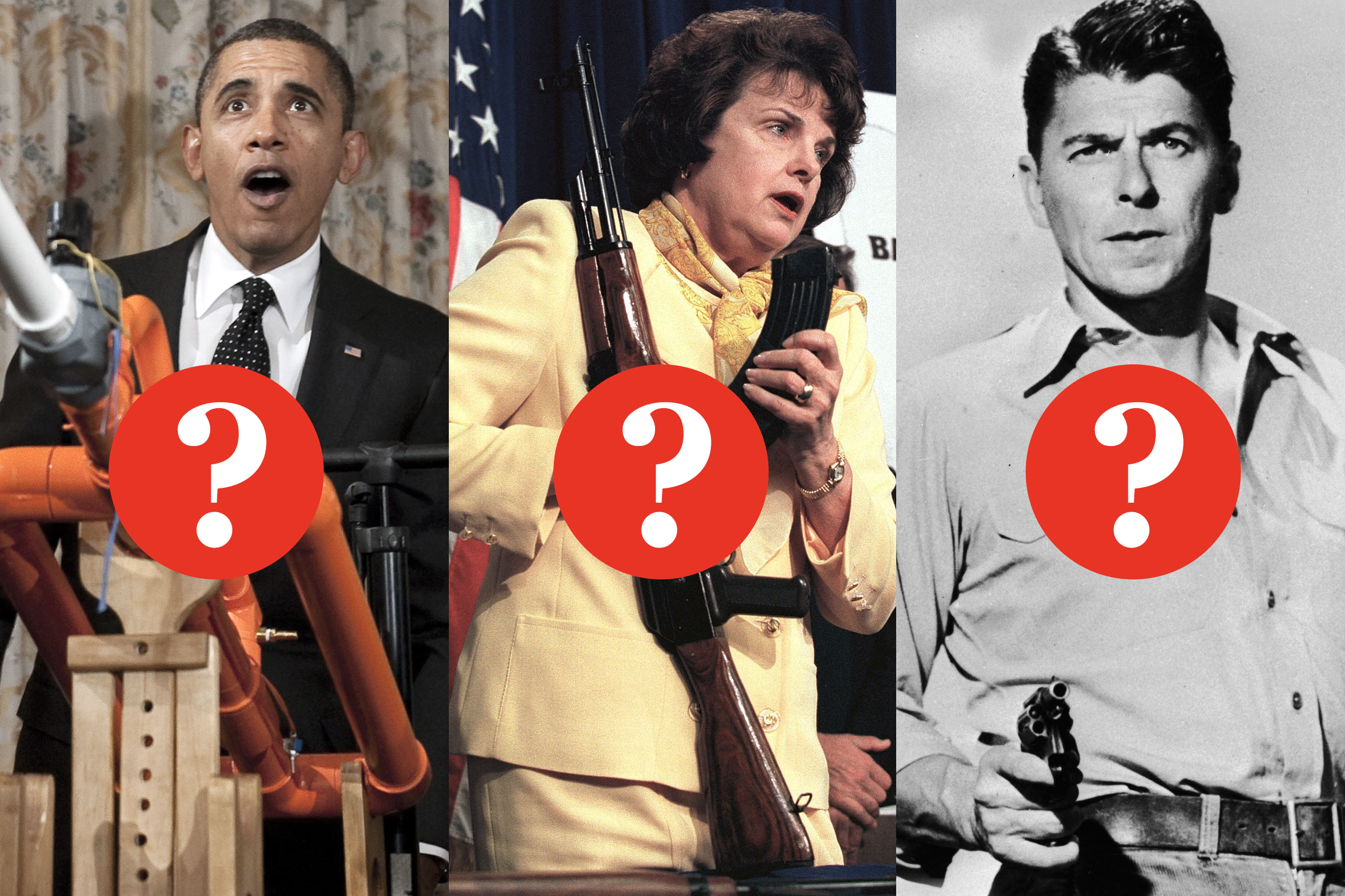 Home Goods Design Quiz Gun Control Quotes Obama Feinstein Or Reagan Nymag