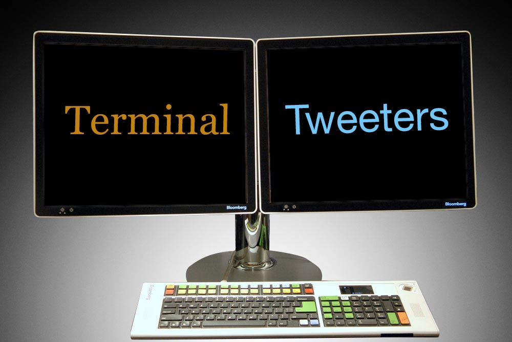 Meet Twitter's Newest Clique: Bloomberg's Terminal Tweeters