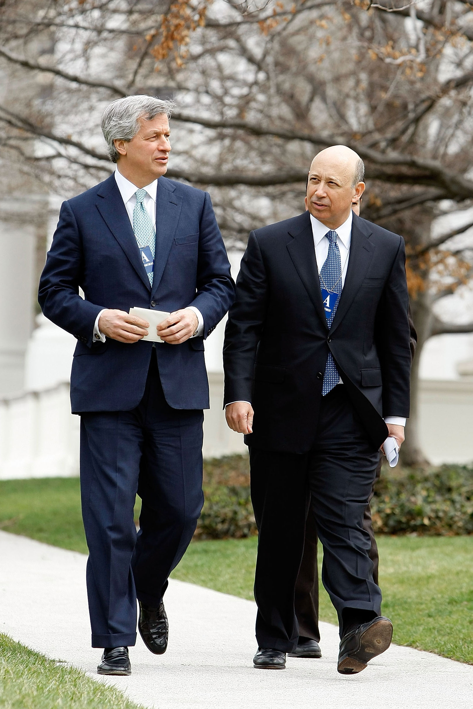 Inside the Jamie Dimon–Lloyd Blankfein Pep Talk -- NYMag