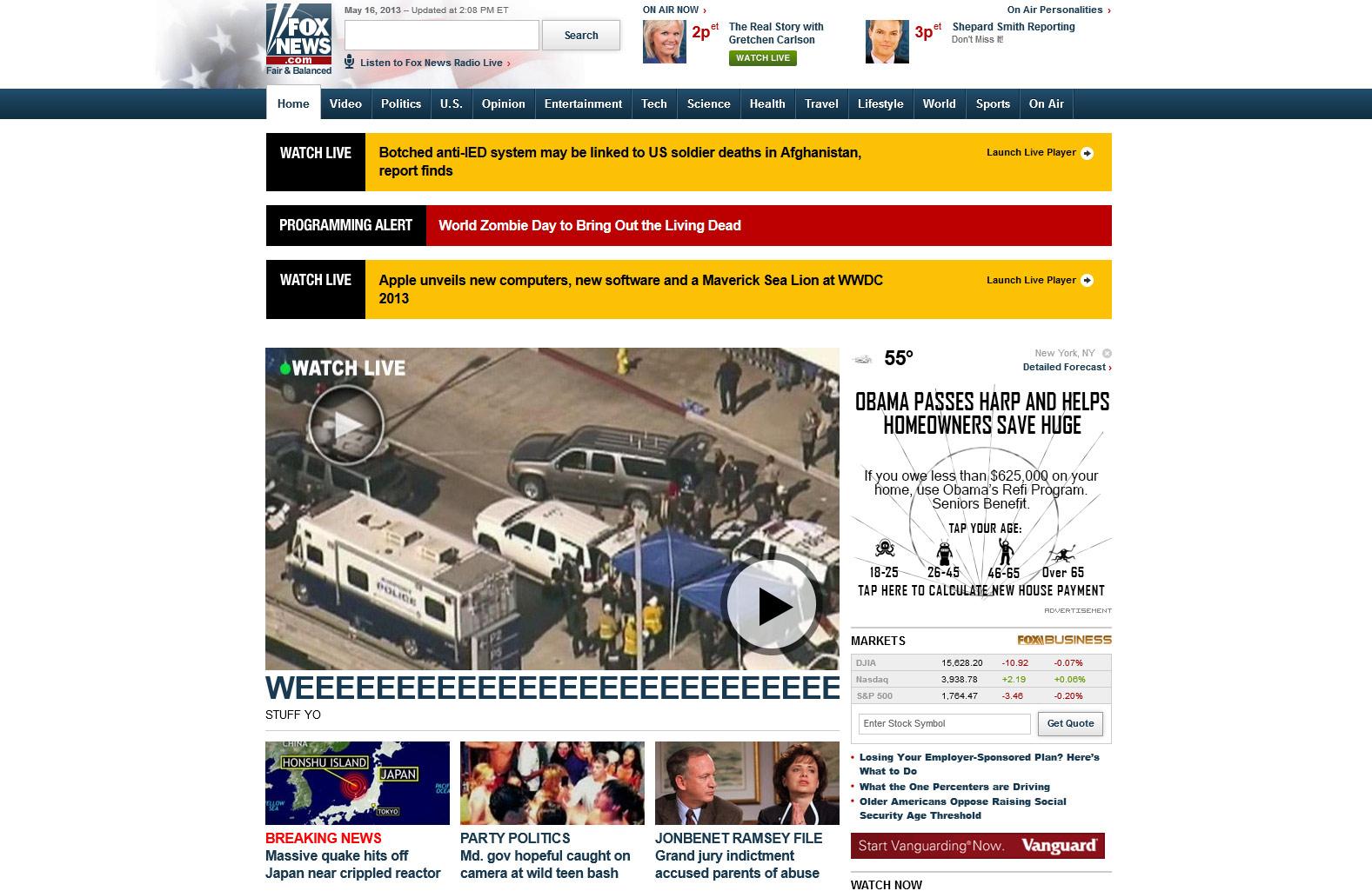 Fox News Oops