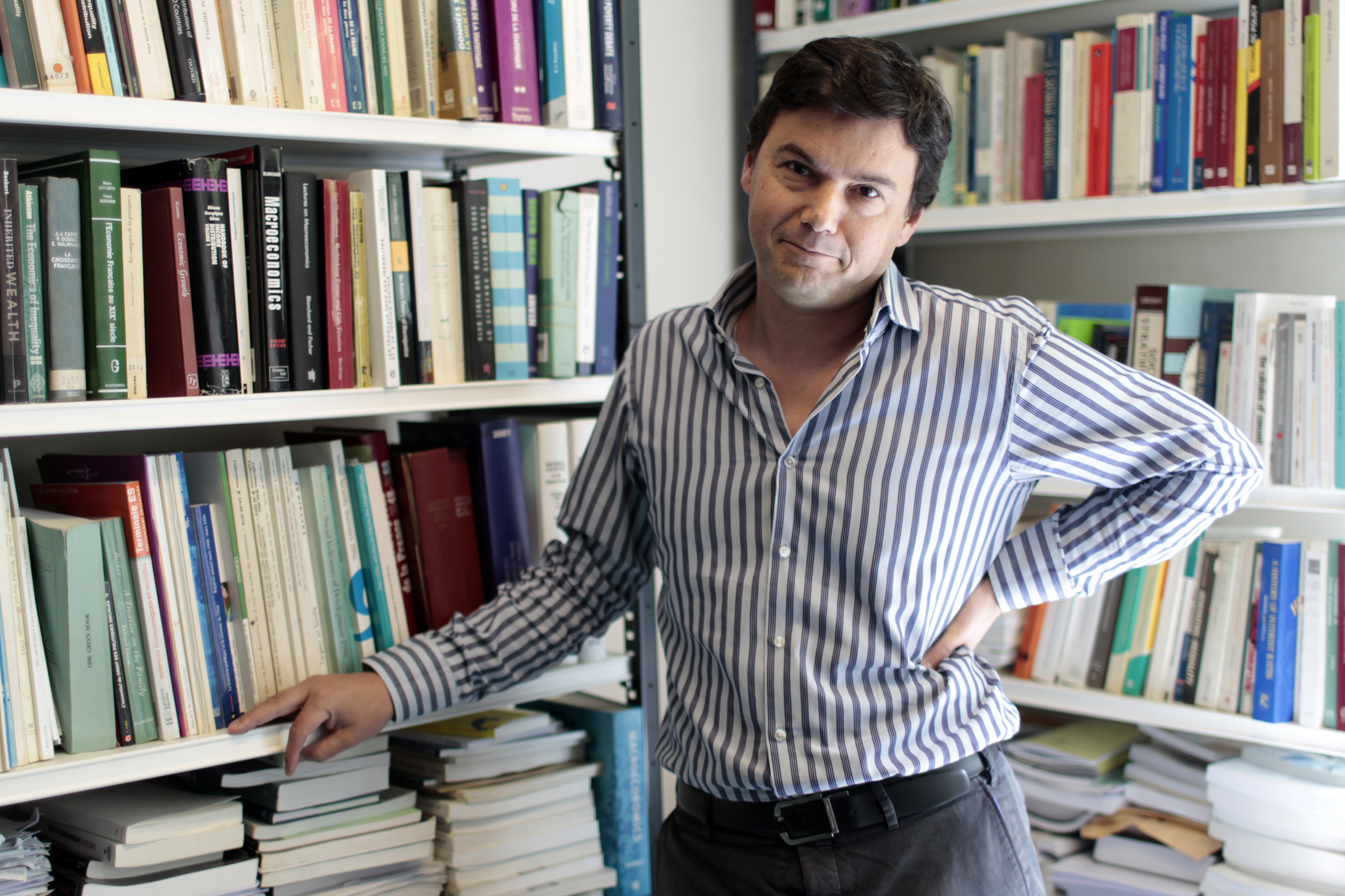 On Tour With Rock-Star Economist THOMAS PIKETTY - General News.
