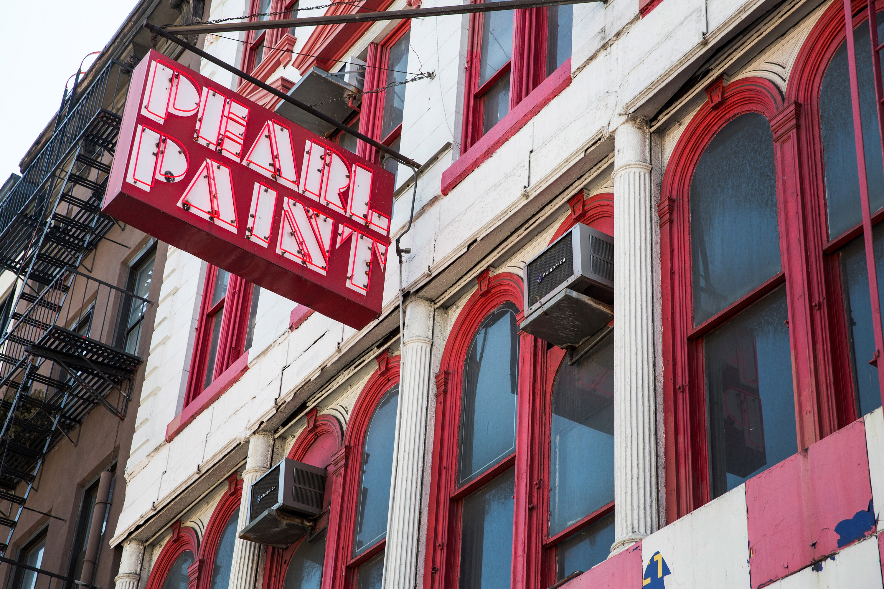 6 new york artists on the closing of pearl paint vulture for Craft stores in nyc