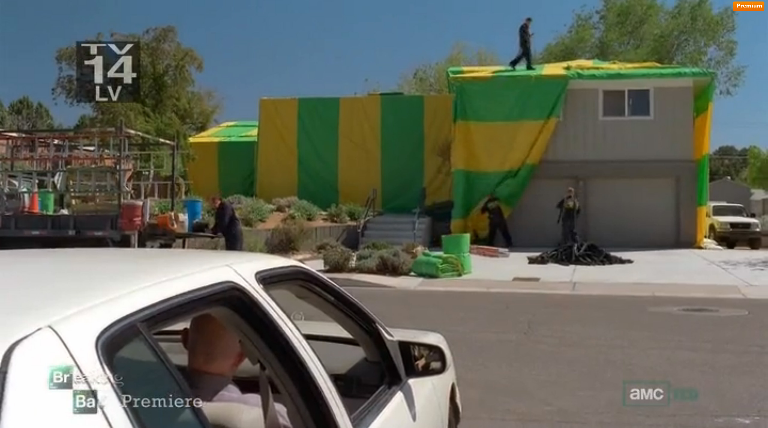A tent over the whole house? & Expect Nothing! - F-ing Neighbor