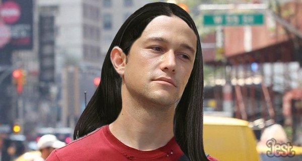 If Joseph Gordon-Levitt Still Had Long Hair -- Vulture Joseph Gordon Levitt Drums