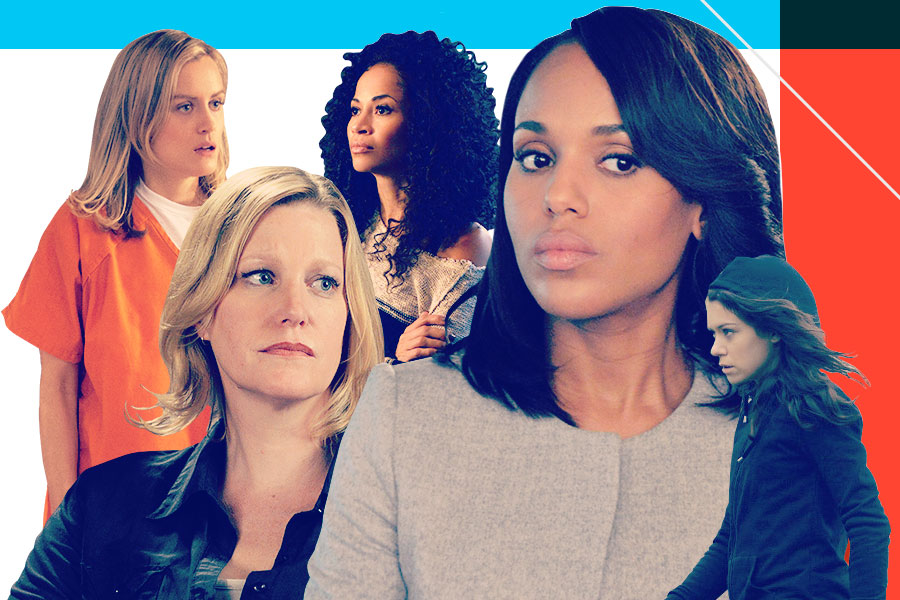 It Was a Good Year for Women on TV