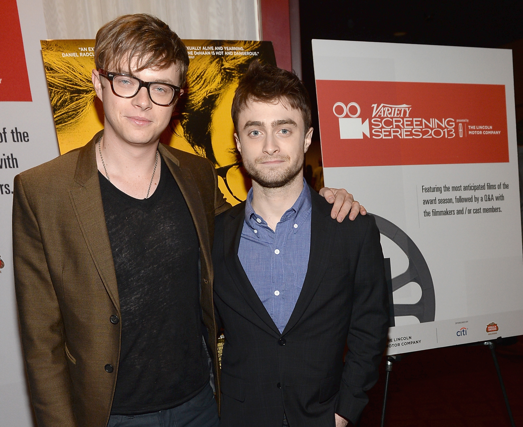 Radcliffe & DeHaan in As Lee Atwater & Karl Rove -- Vulture Daniel Radcliffe College