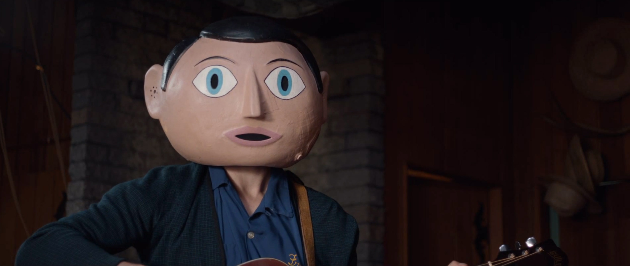 Frank Trailer: Michael Fassbender Is Mr. Papier-Mâché Head