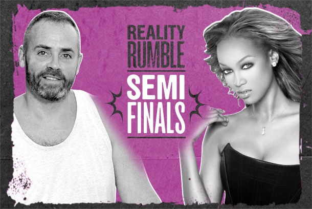 Reality Show Ever? Semifinals: Survivor vs. America's Next Top Model
