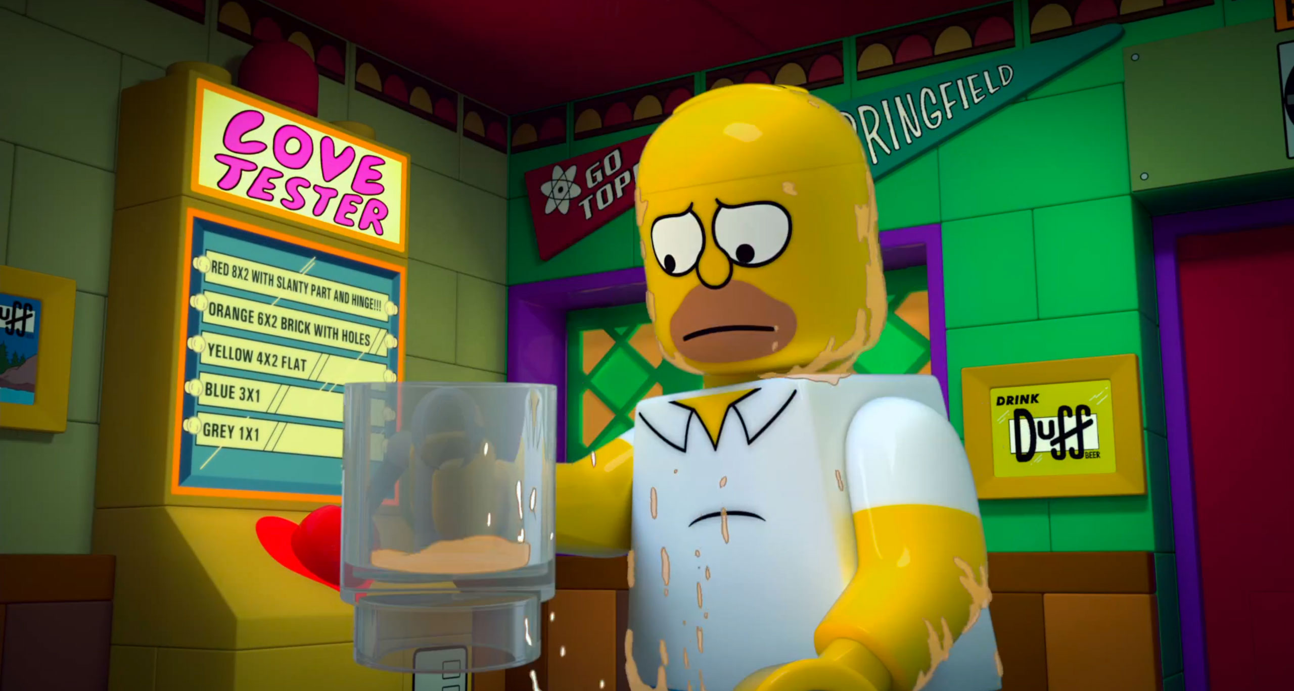 The Simpsons LEGO Episode Looks Weirder than Expected