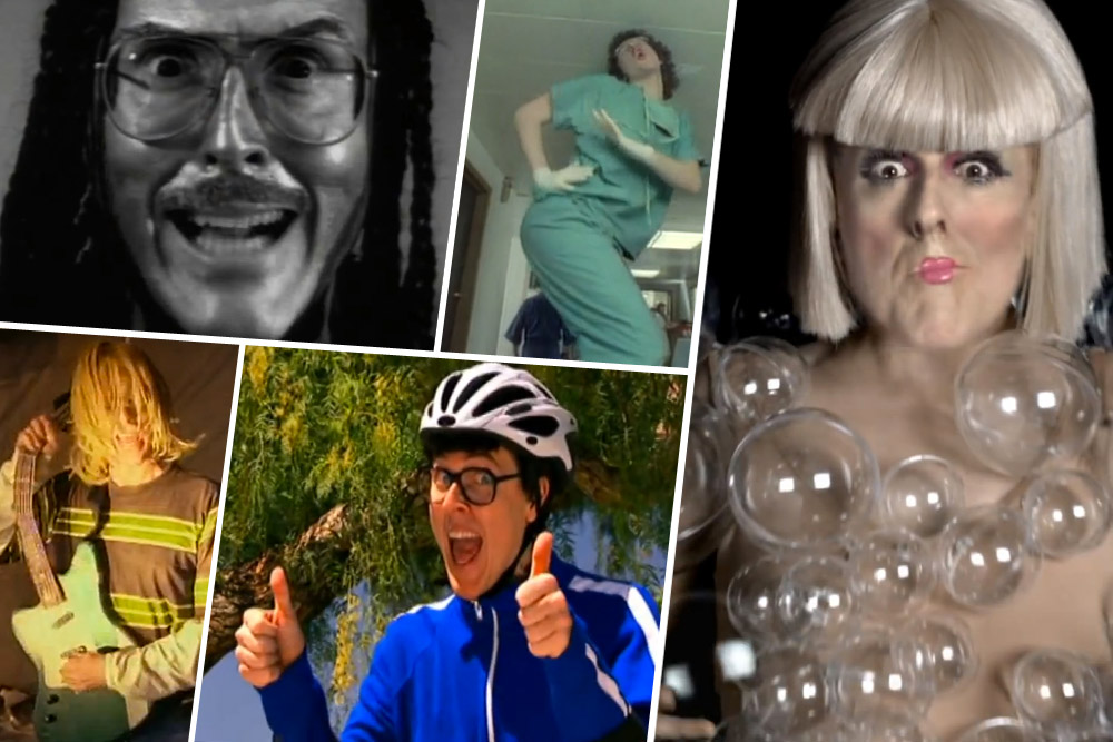 The History Behind 12 Great Weird Al Videos