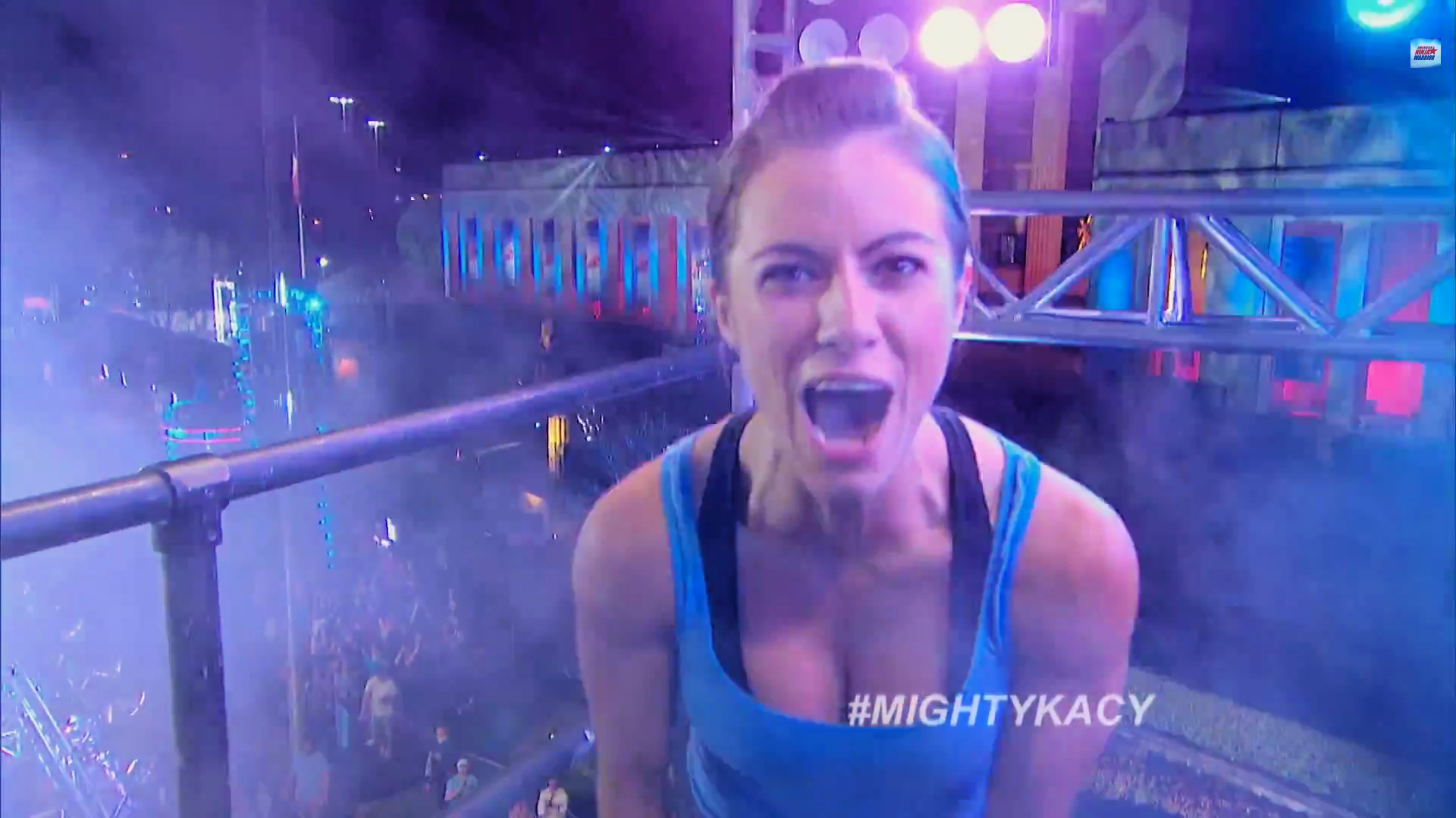 The First Woman to Finish the American Ninja Warrior Course Will Blow All of Your Mind