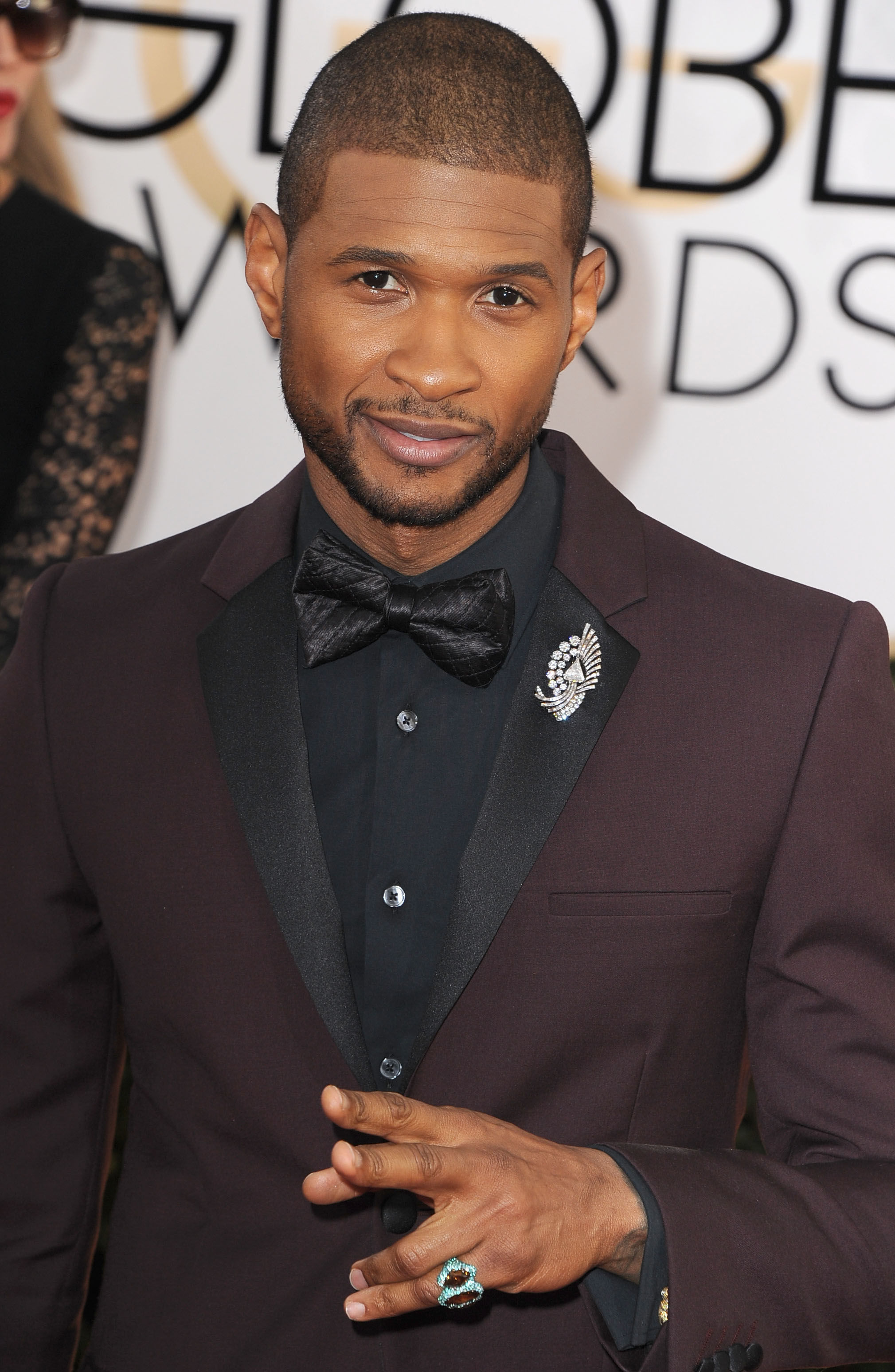 Usher Haircut Back View   Usher 2014 Haircut