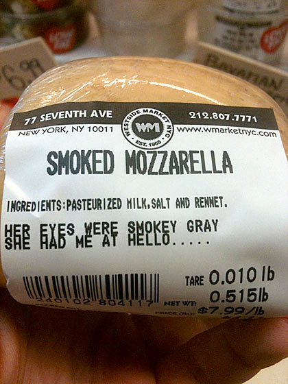 Unusual Cheese Labels