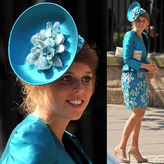 Royal Fascinators at Zara Phillips wedding dbb5e363aea