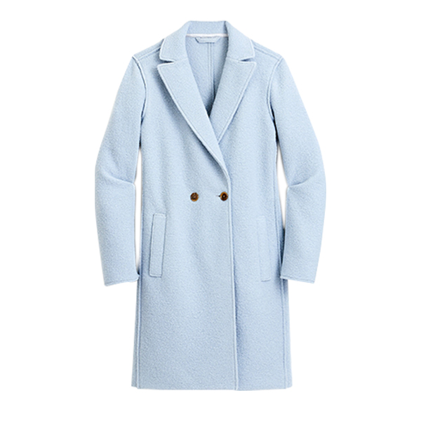 Daphne topcoat in Italian boiled wool