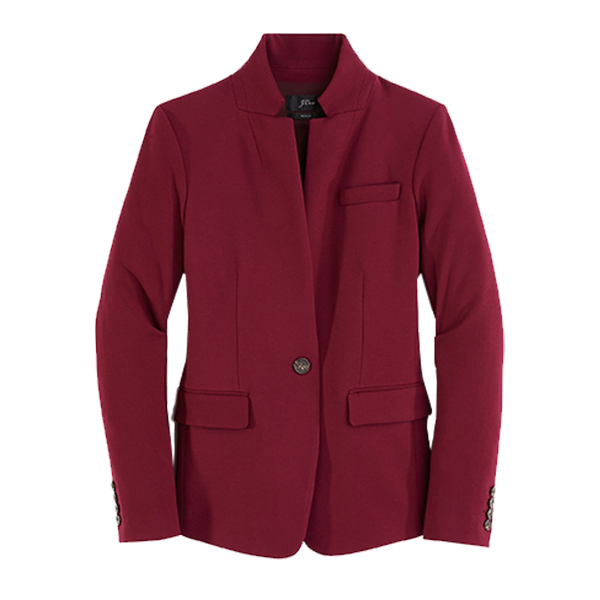 Regent blazer in four-season stretch