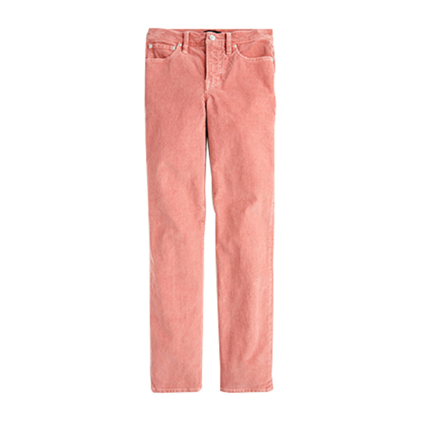Vintage straight pant in garment-dyed corduroy