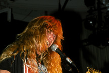 Dave Mustaine Megadeth 1990's File Photo.