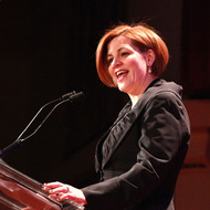 NEW YORK, NY - FEBRUARY 02:  New York City Council Speaker Christine Quinn attends The 2013 Greater New York Human Rights Campaign Gala  at The Waldorf=Astoria on February 2, 2013 in New York City.  (Photo by Taylor Hill/FilmMagic)