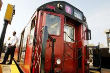 N.Y.C. Redbird Subway Train Makes Final Trip Before It Is Retired