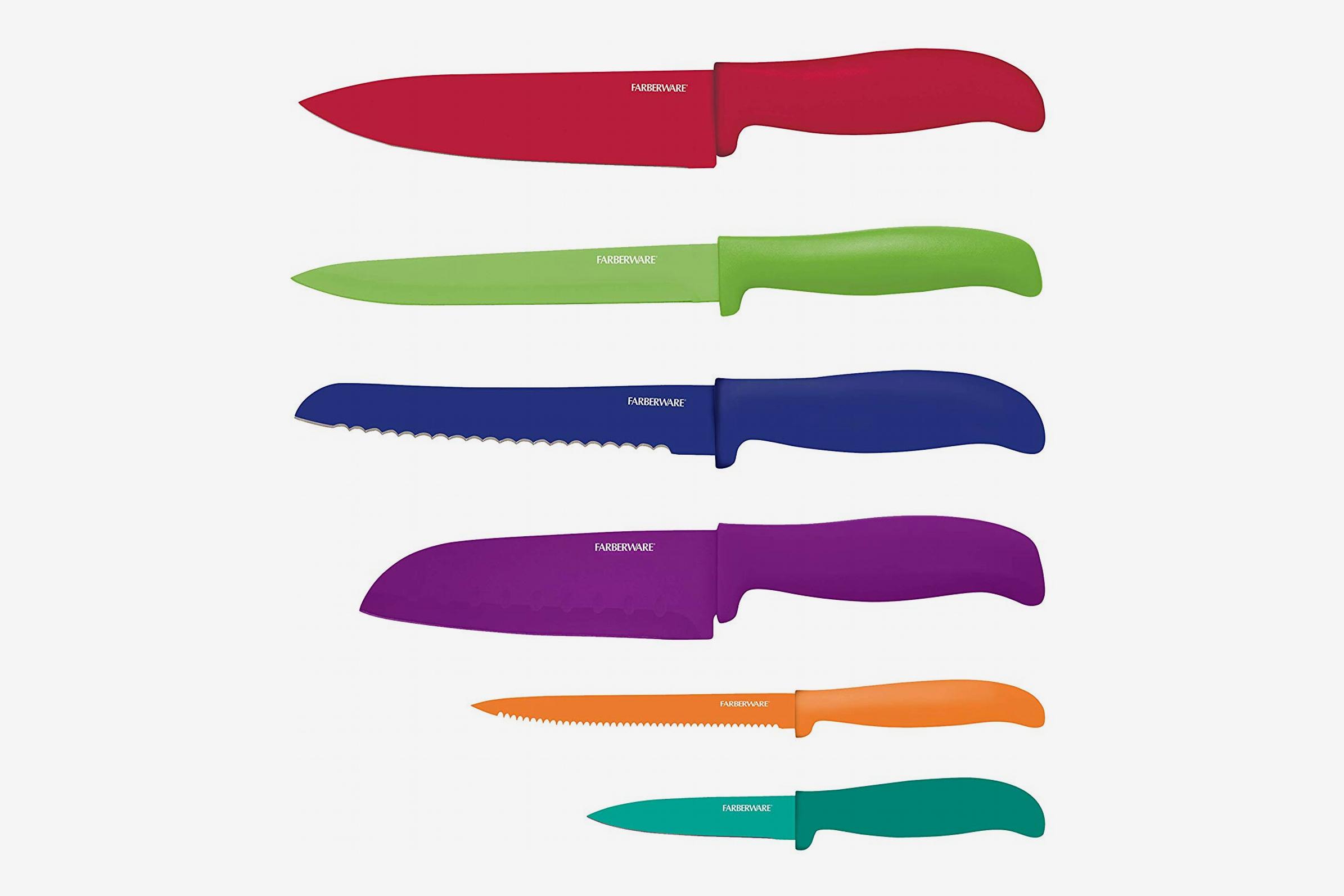 Farberware 12-Piece Resin Knife Set