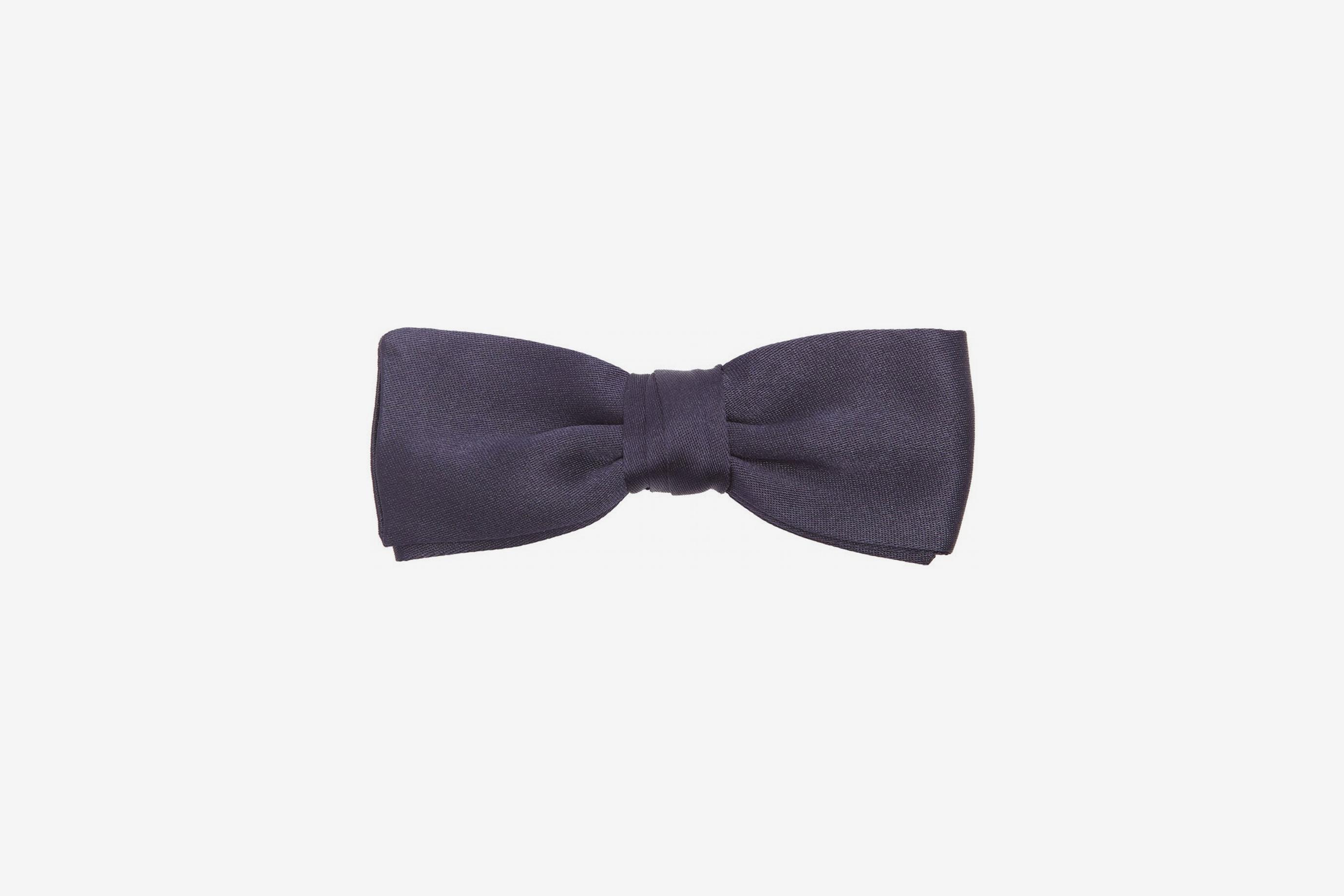 Prada Silk-Satin Bow Tie