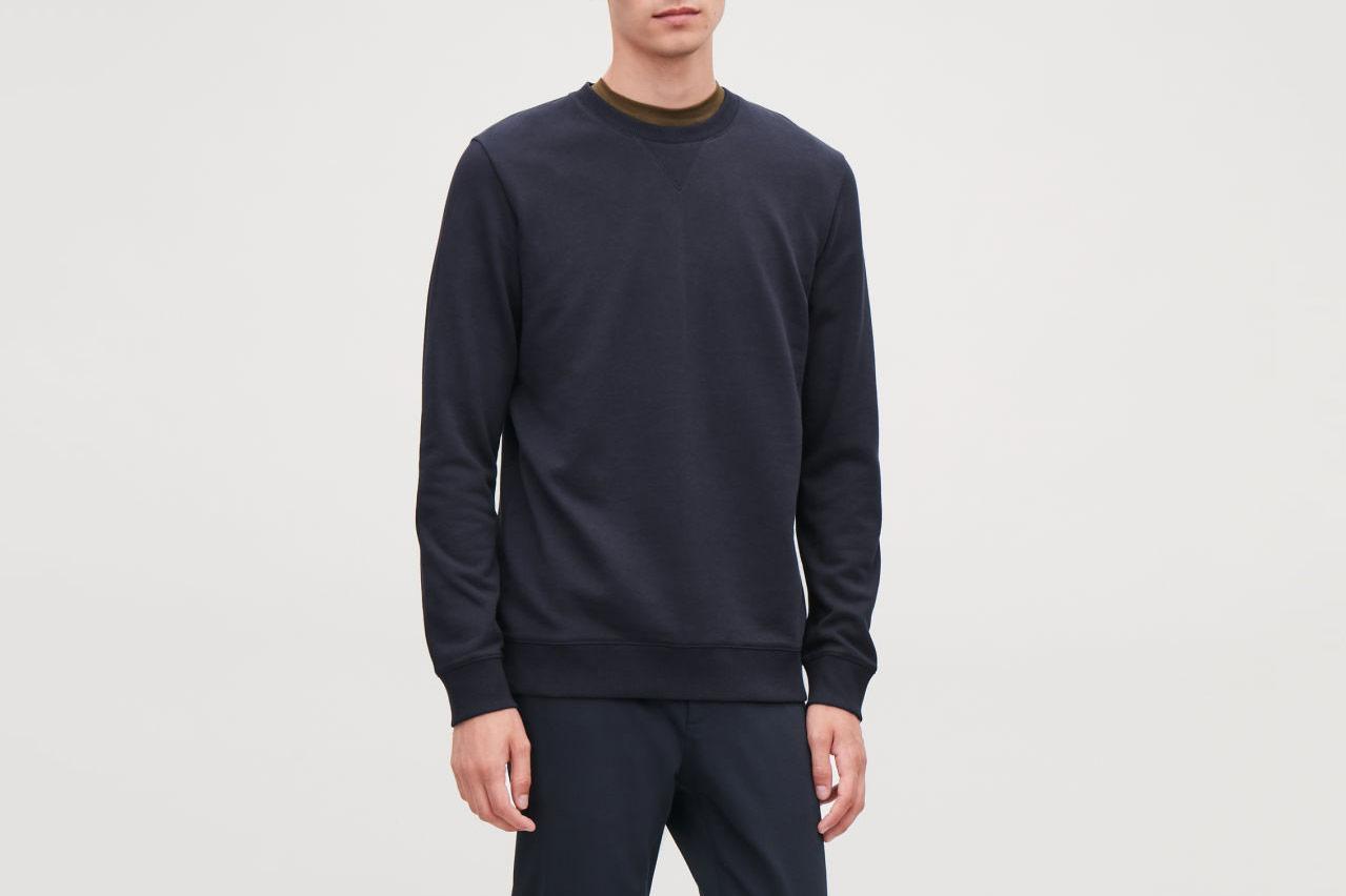 COS Brushed Cotton Sweatshirt