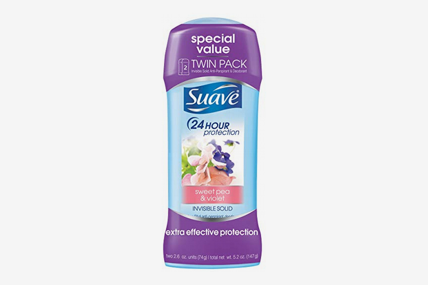 Suave Antiperspirant Deodorant in Sweet Pea