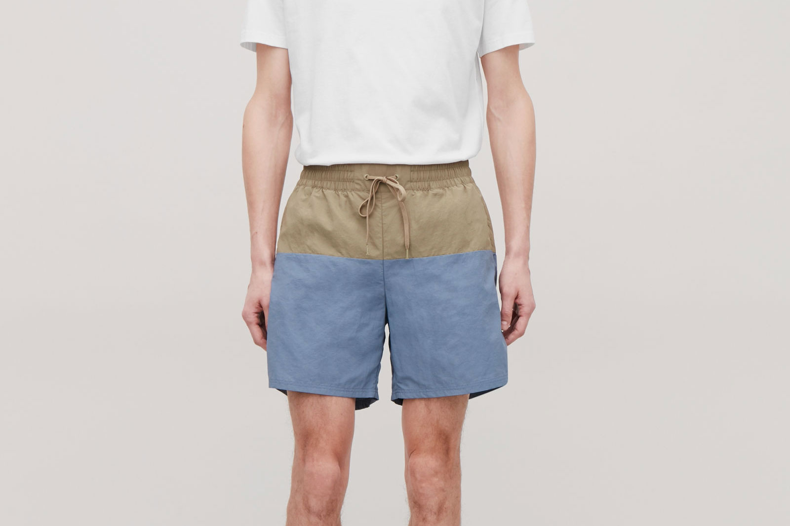 COS Colour Block Swim Shorts