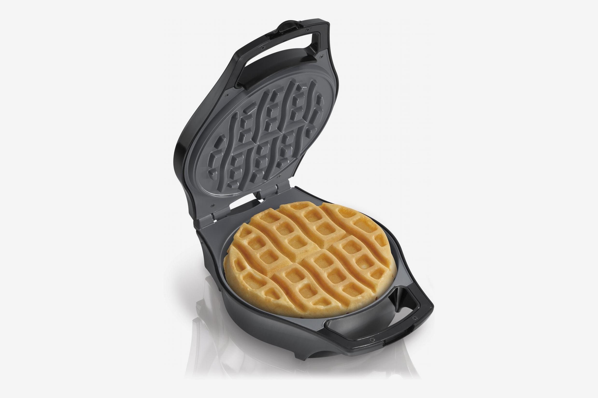 Hamilton Beach Belgian Waffle Maker, Mess Free