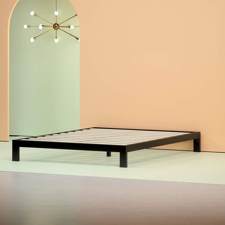 7192b51dda Zinus Arnav Modern Studio 10 Inch Platform 2000 Metal Bed Frame, Queen
