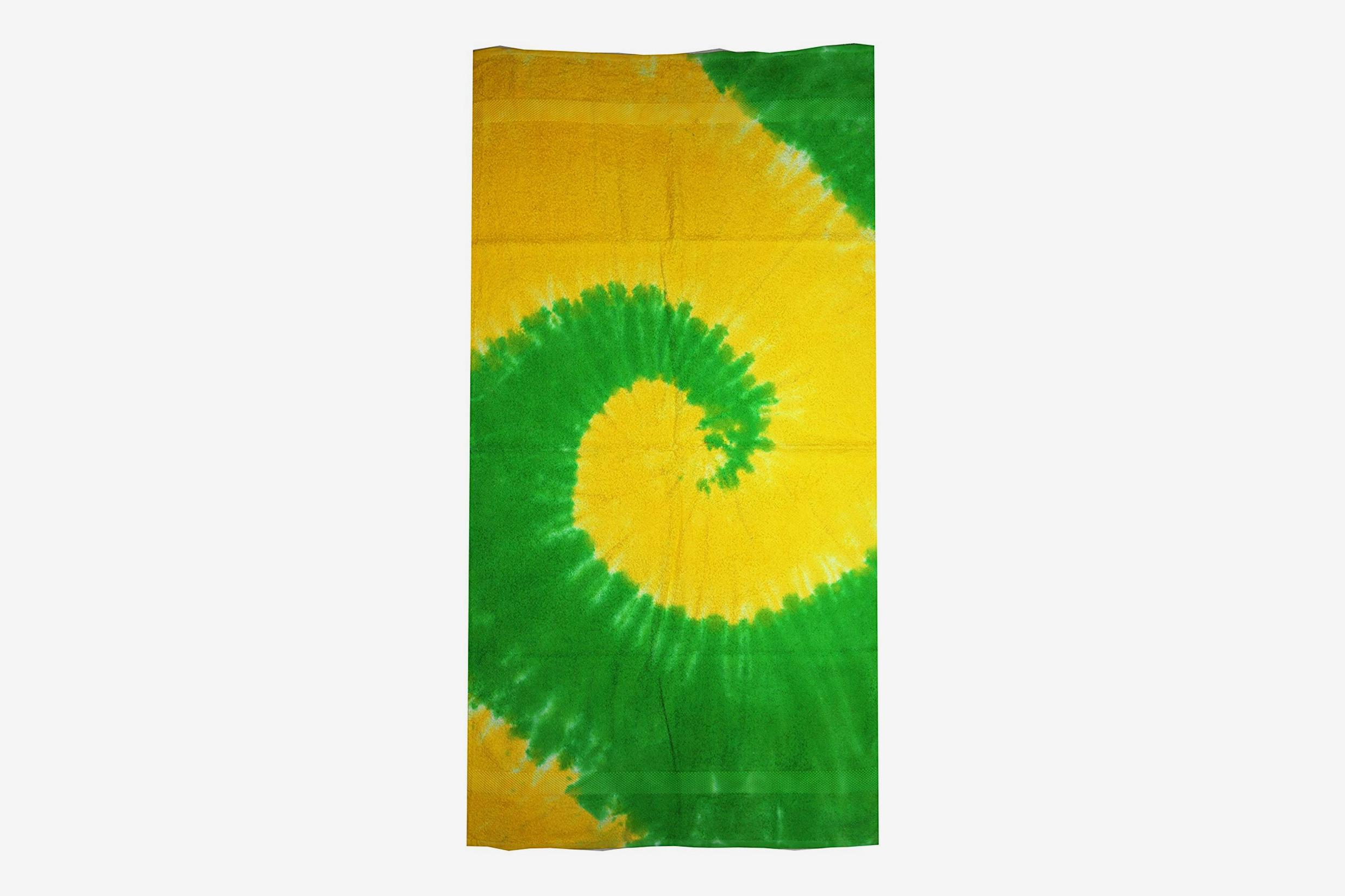 "Colortone 30"" X 60"" Tie Dye Beach Towel"