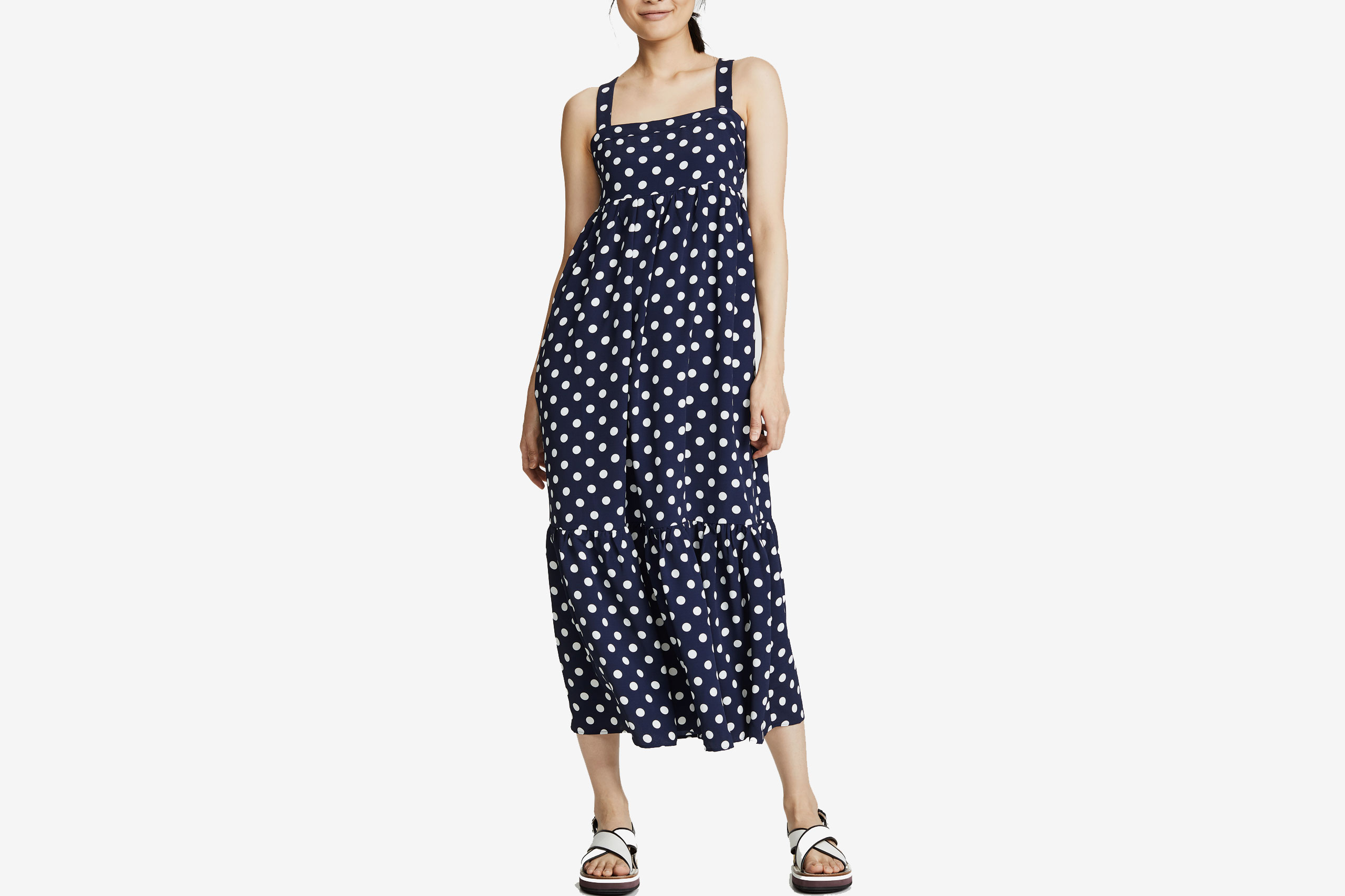 English Factory Sleeveless Maxi Dress