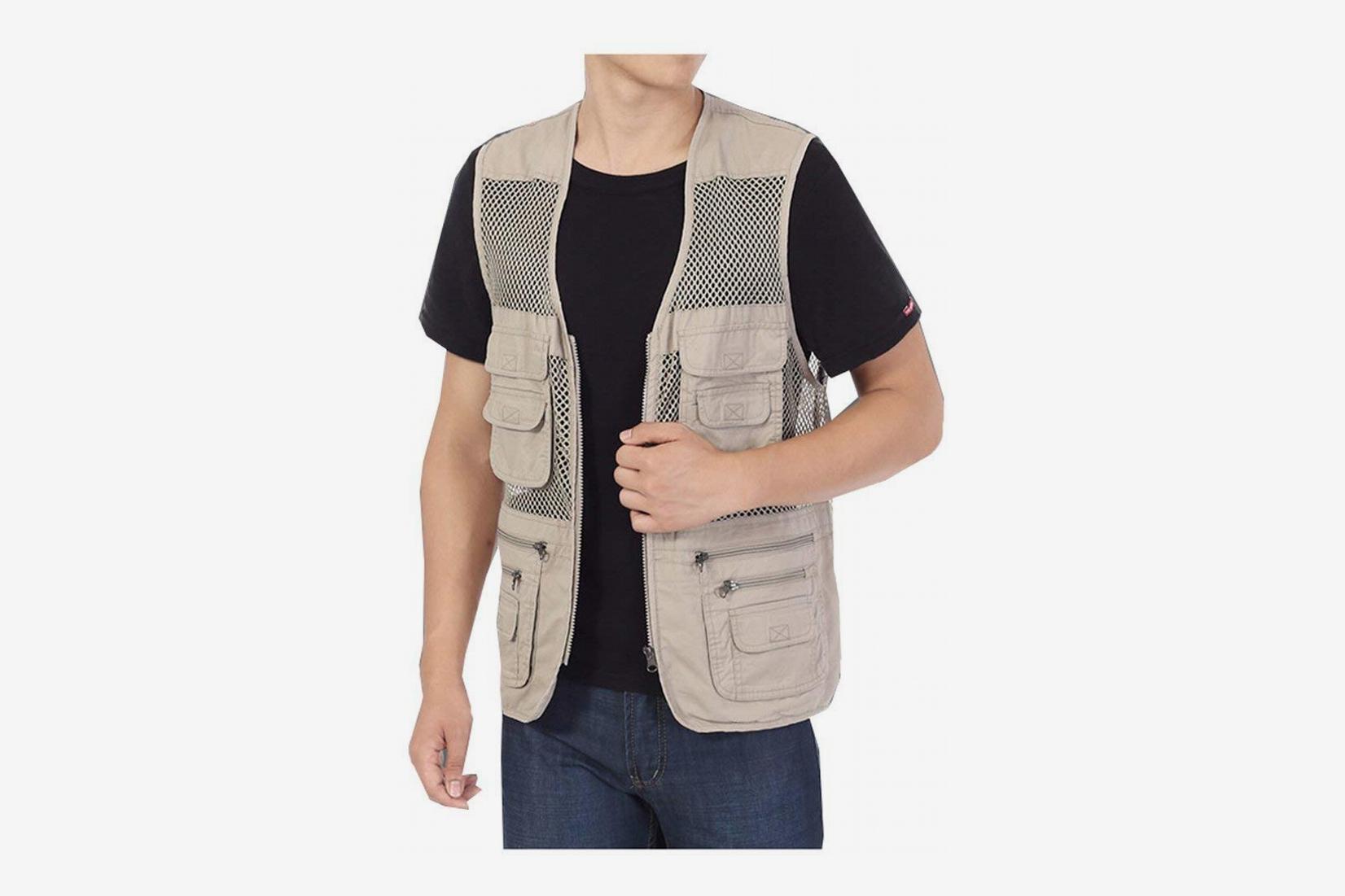 Kedera Men's Mesh Fishing Vest