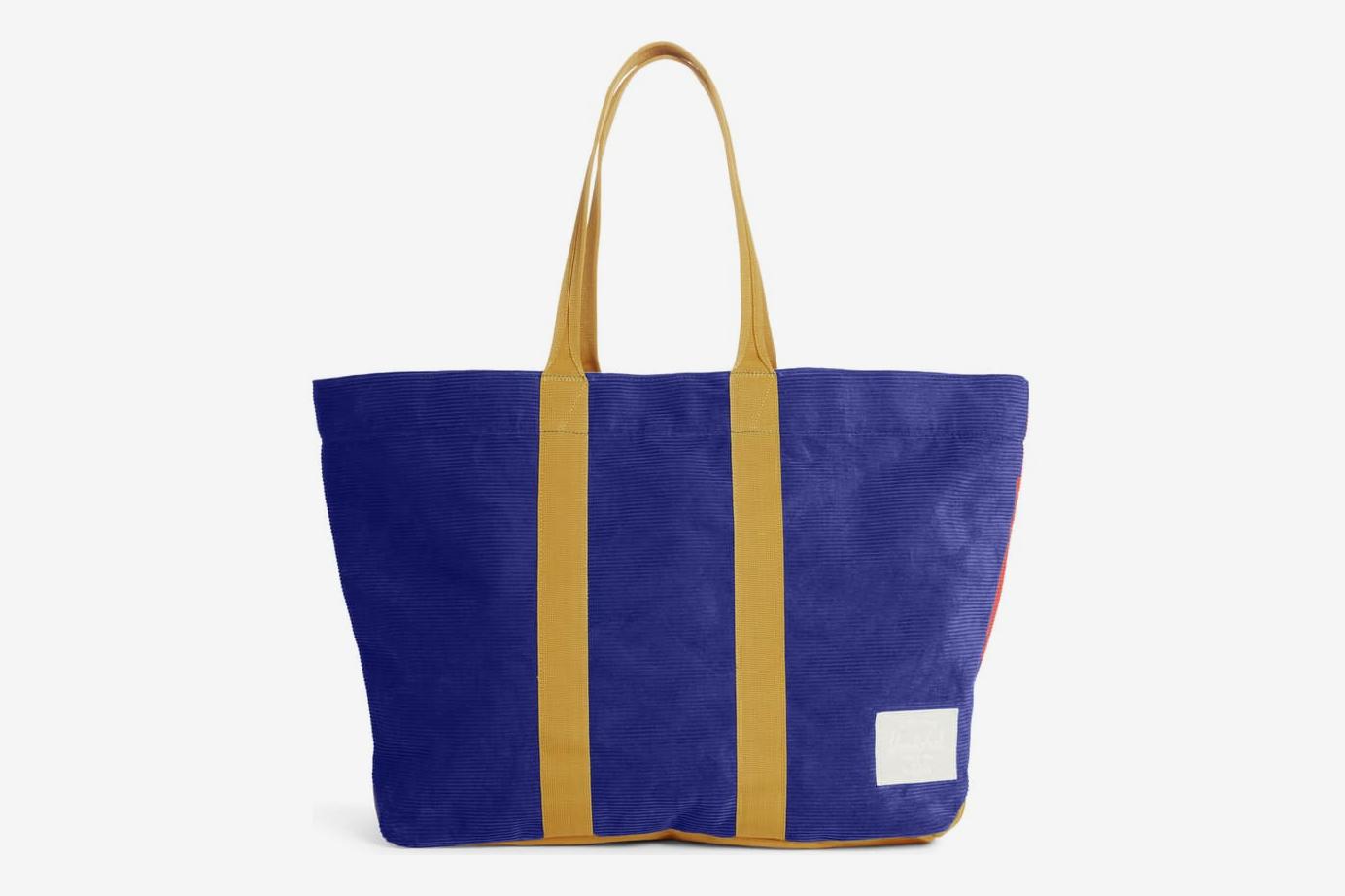 Herschel Supply Co. Skaha Tote, Blue/Red/Gold