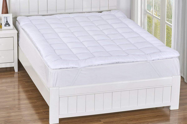 Royal Hotel Plush Mattress Topper, Twin-XL