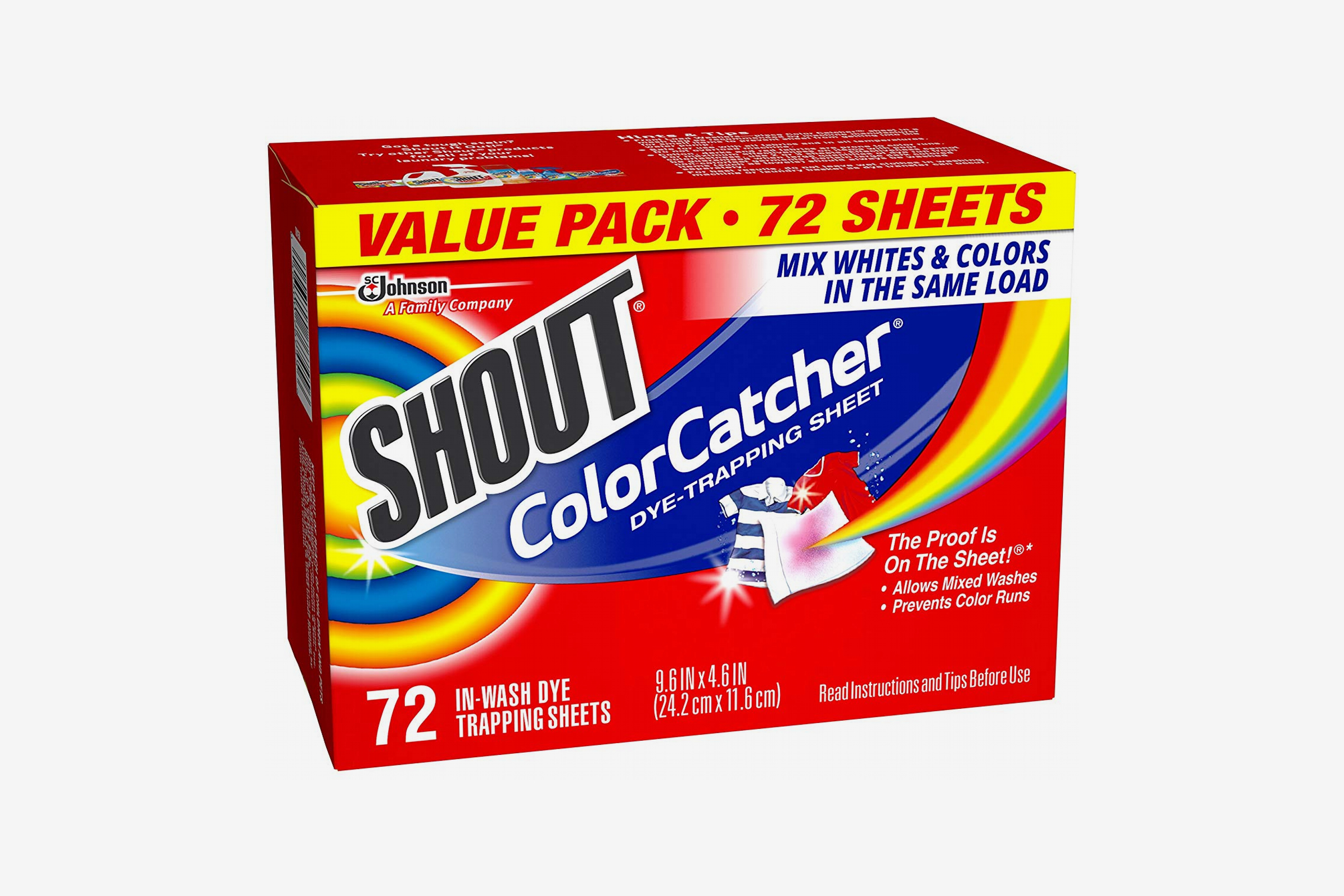 Shout Color Catcher Dye Trapping Sheets