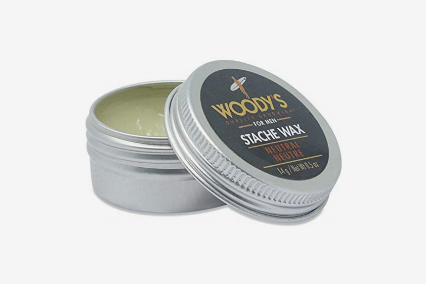 Woody's Stache Wax, 0.5 Ounce