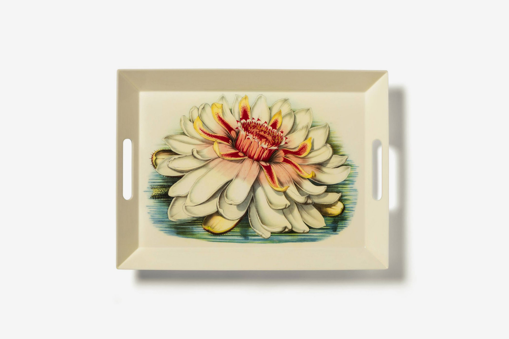 John Derian for Target Melamine Serving Tray with Handles Floral Print