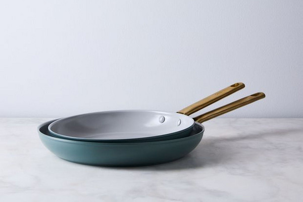 "Food52 x GreenPan Nonstick Skillet Set, 10"" & 12"""