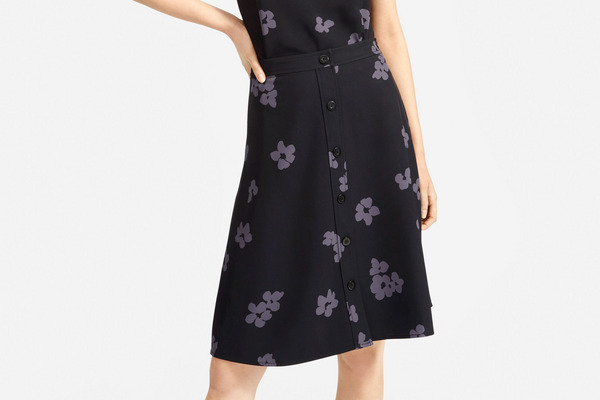 Everlane The Japanese GoWeave Swing Skirt