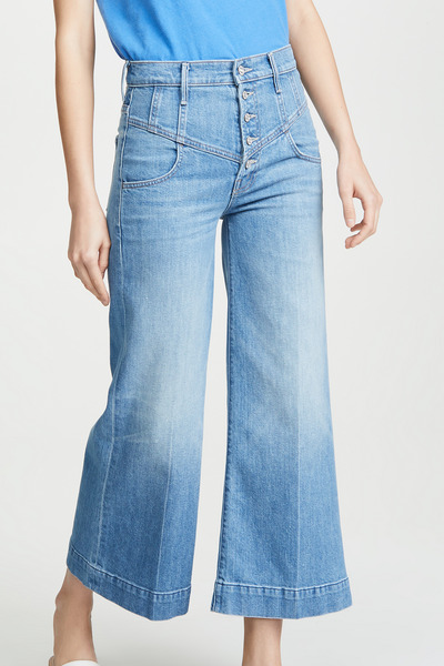 MOTHER Superior Swooner Crop Jeans