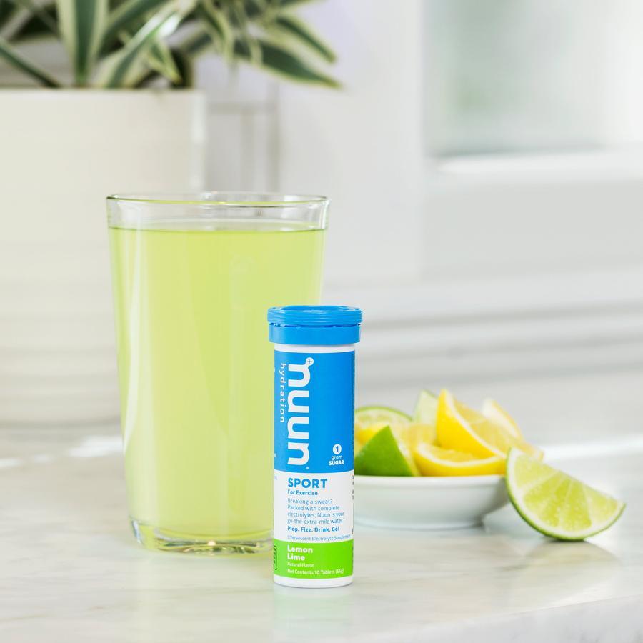 Nuun Sport Hydration Tablets, Lemon Lime