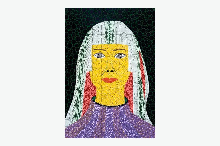 Self-Portrait by Yayoi Kusama Puzzle
