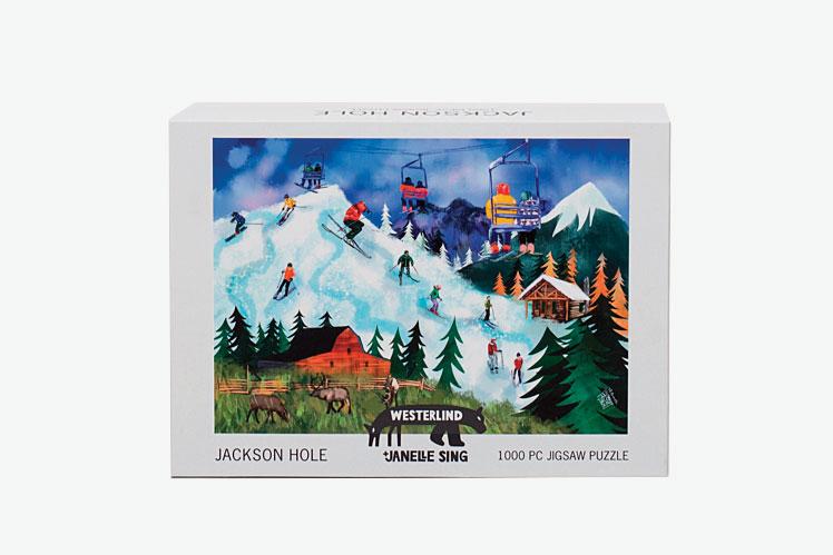 Westerlind Jackson Hole Jigsaw Puzzle