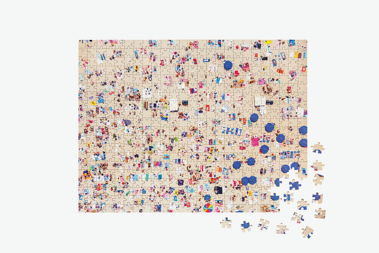 The Beach Two-Sided Puzzle