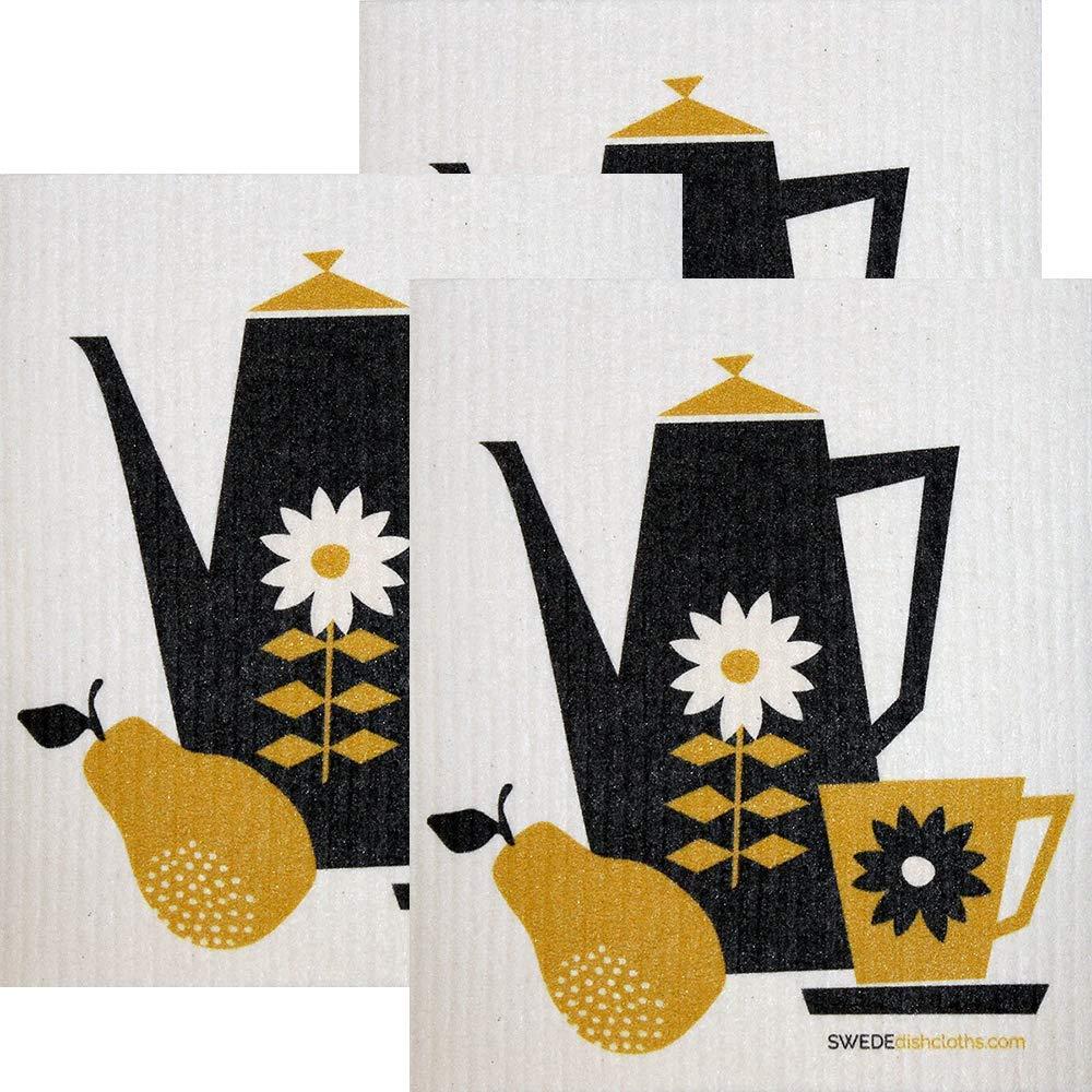 SwedeDishcloths Retro Coffee Collection