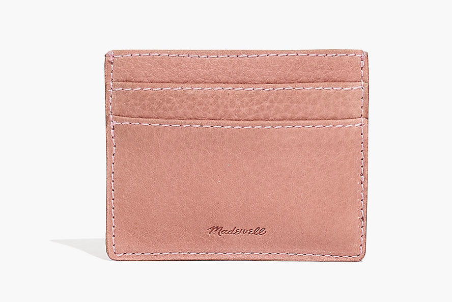 Madewell The Leather Card Case